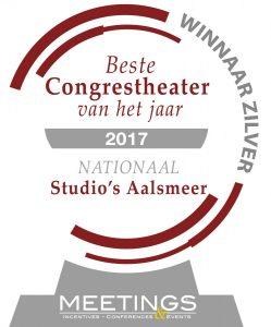 Congrestheater Studio's Aalsmeer zilveren medaille